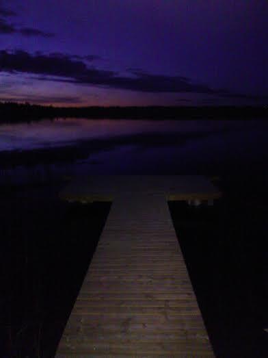 pier to the night