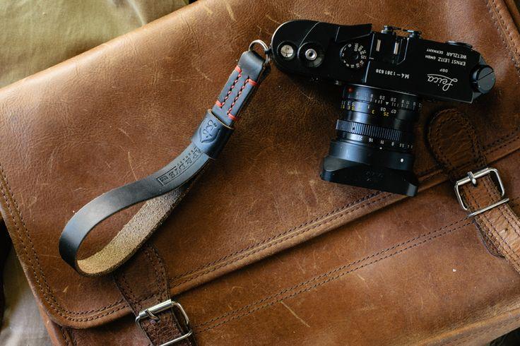 TAP & DYE | cinghie di cuoio Handmade Fotocamera | Cinturini in pelle per fotocamere | Cinturini in pelle Vintage Fotocamera Leica Camera | ...