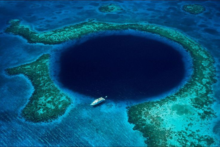 Grand trou bleu - Belize