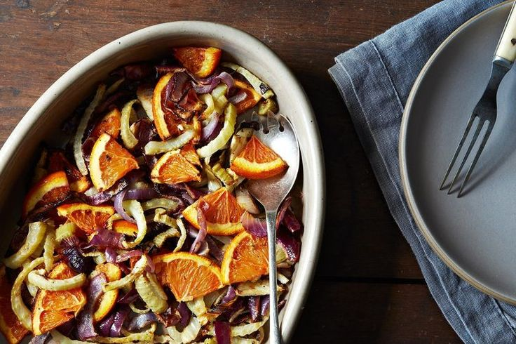 Molly Stevens' Roasted Fennel, Red Onion, and Orange Salad recipe on Food52