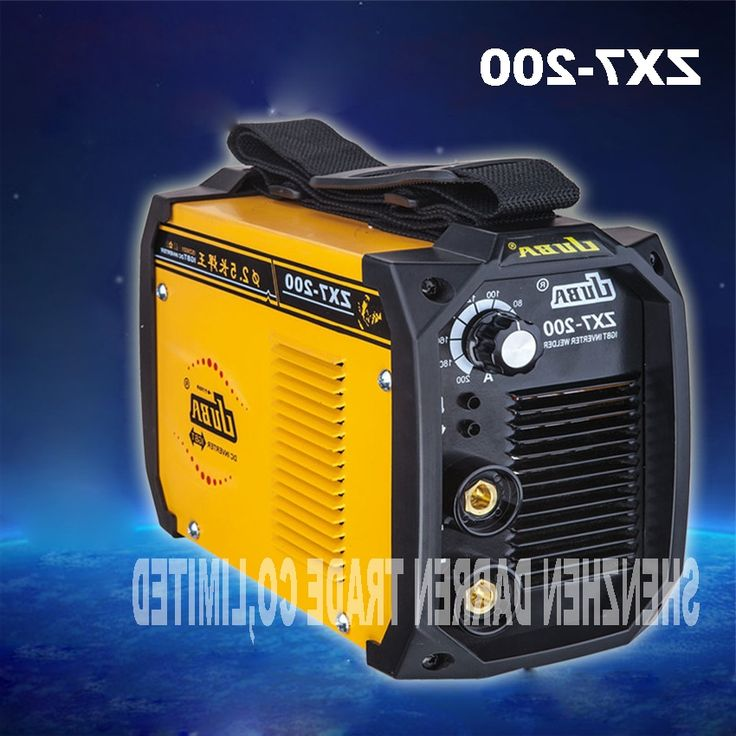103.25$  Buy here - http://aliuxu.worldwells.pw/go.php?t=32780201582 - 2pcs new portable  welder IGBT inverter portable welding machine  arc welder ZX7-200 with electrode holder and earth clamp