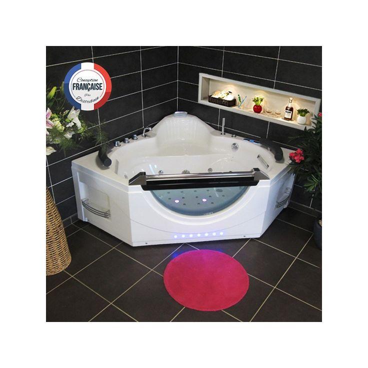 Les 25 meilleures id es de la cat gorie baignoire d angle balneo sur pinteres - Baignoire balneo angle 140 ...