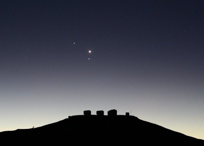 Planets over Paranal