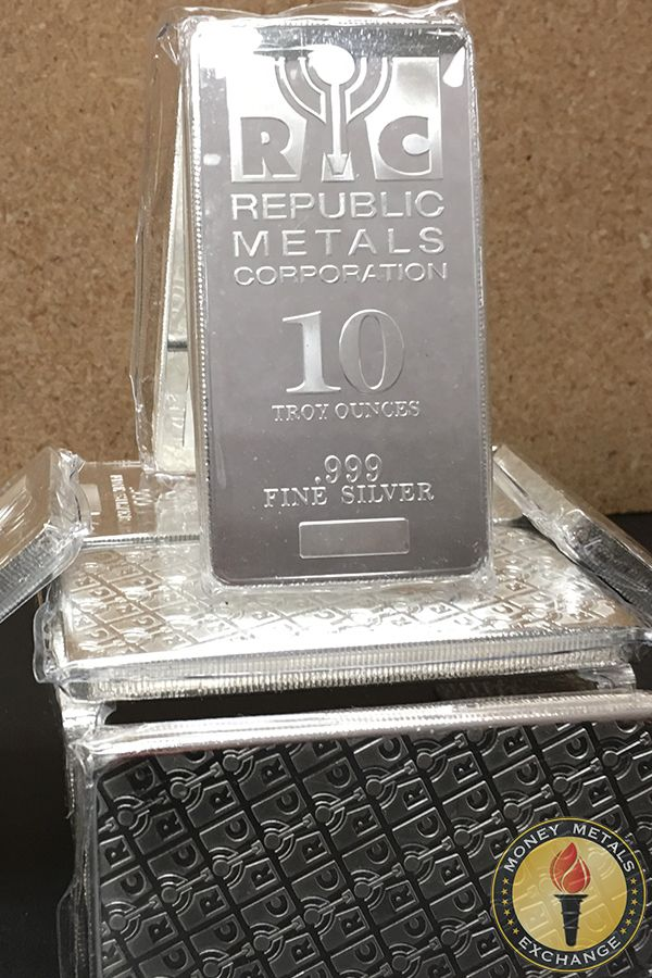 10 Oz Silver Bars For Sale 10 Troy Weight Bullion Money Metals Exchange Silver Bars Silver Bullion Gold Money