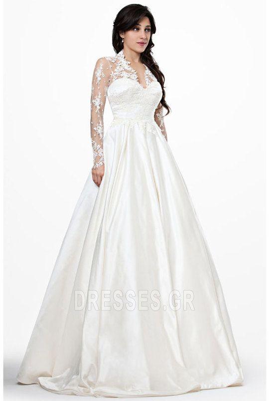 18 besten Δαντέλα νυφικά Bilder auf Pinterest | Hochzeitskleider ...