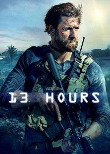 13 Hours HD : On Sept. 11, 2012, Islamic militants attack the U.S. Consulate in Benghazi, Libya, killing Ambassador J. Christopher Stevens and Sean Smith, an officer for the Foreign Service. Stationed less than one mile away are members (James Badge Dale, John Krasinski, Max Martini) of the Annex Security Team, former soldiers assigned to protect operatives and diplomats in the city.