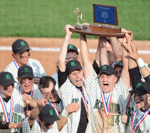 Can you remember all the way back to Friday June 17th 2011. That is the day that the Riverside Panthers boys baseball team won the schools third State Title in the 2011 PIAA Class AA Baseball Playoffs. After trailing 2-1, the Panthers fought back and won the title 5-2 on shortstop Ryan Finnegan's three run … Continue reading 2011 PIAA Class AA Champions →