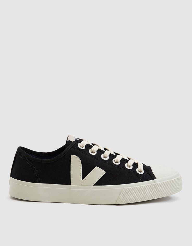 Wata Canvas Sneaker in Black Pierre
