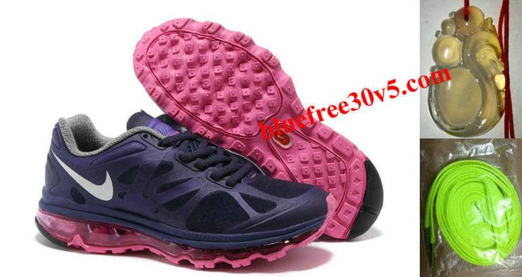 Womens Nike Air Max 2012 Purple Pink White Shoes