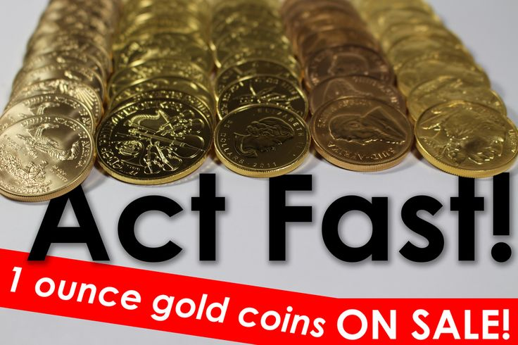 SALE ALERT!  These 1 ounce gold coins are ON SALE for a limited time get them while they last! Inventory is priced to sell see our products specials page for prices/details: https://www.moneymetals.com/buy/specials