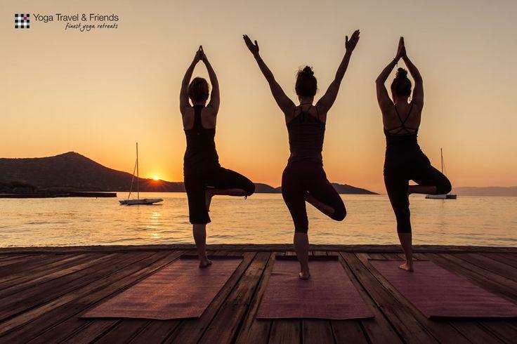 #yoga #crete #sunrise by Felix Matthies