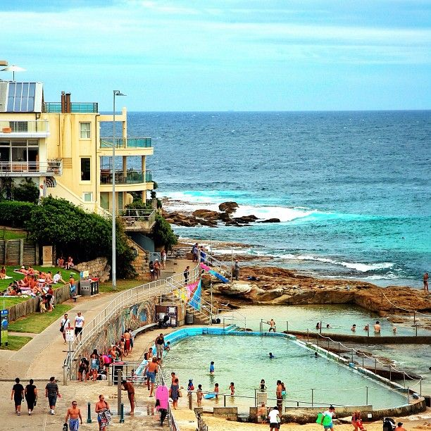 North Bondi pools #Bondibeach #Sydney #Australia   by cribbe64 Instagram)