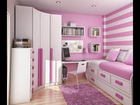 💗 Комната для девочки в розовом цвете - идеи дизайна интерьера - YouTube