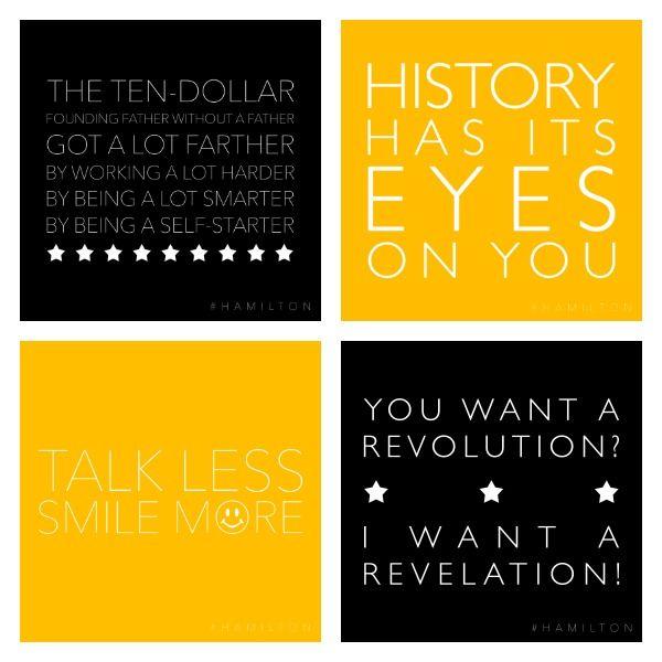 Best 25+ Hamilton Poster Ideas On Pinterest