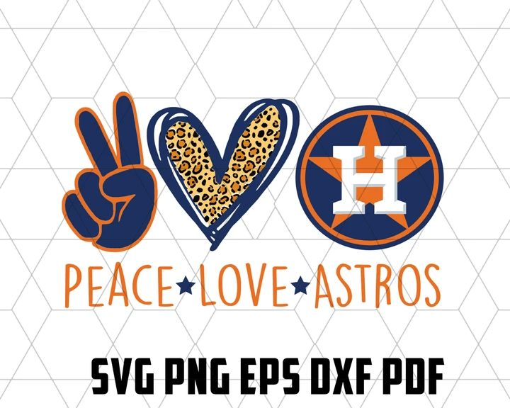 Download Peace love astros SVG,SVG Files For Silhouette, Files For ...
