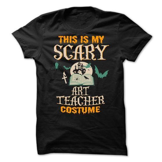 This Is My Scary ART TEACHER Costume - #shirt refashion #sweater shirt. CHEAP PRICE: => https://www.sunfrog.com/No-Category/This-Is-My-Scary-ART-TEACHER-Costume.html?60505