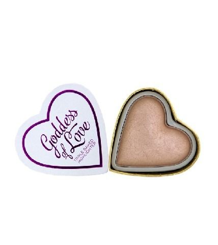 MAKEUP REVOLUTION I LOVE MAKE UP BLUSHING HEARTS ROZŚWIETLACZ DO TWARZY GODDESS OF LOVE  10G