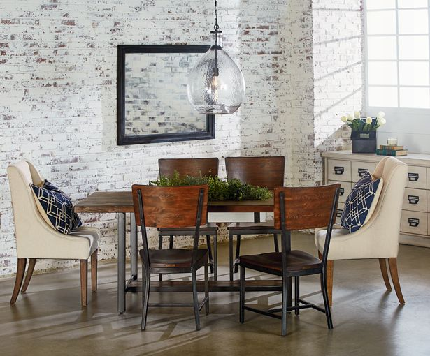 We Were Inspired By The Utility Of Working Industrial Pieces For Our Framework Dining Table