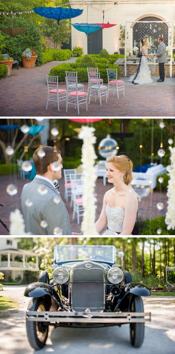 Old Hollywood Singin In The Rain Inspired Styled Shoot Savannah WeddingWedding SongsWedding