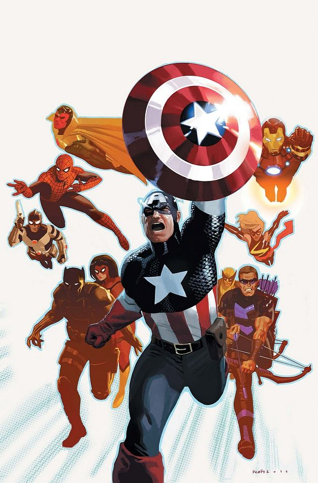 The Avengers by Daniel Acuña