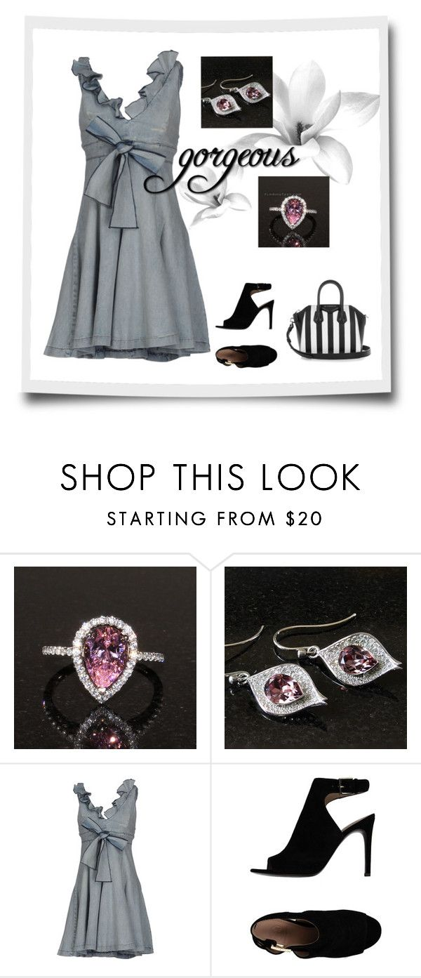 """""""Ruffled"""" by bellastreasure ❤ liked on Polyvore featuring S.O.S By Orza Studio, Tory Burch and Givenchy"""
