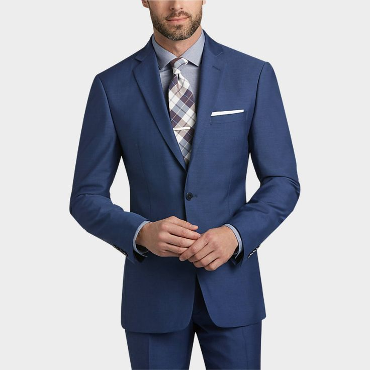 Cool and fashionable dark blue suit for men (12)