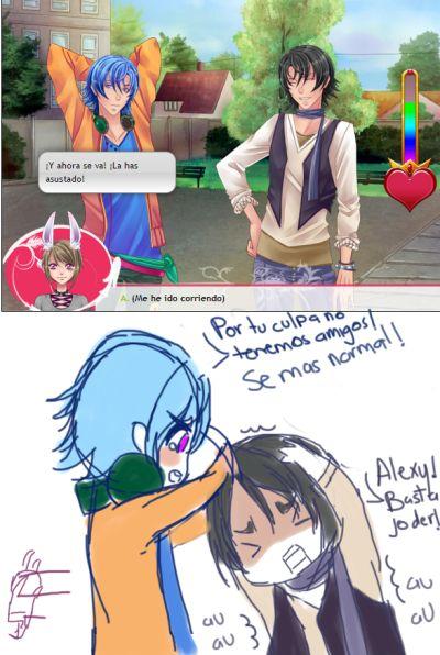 Armin y Alexy, Corazón de Melón