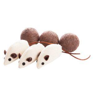 Grreat Choice™ 6 Ct Natural Ball/Mice  - PetSmart