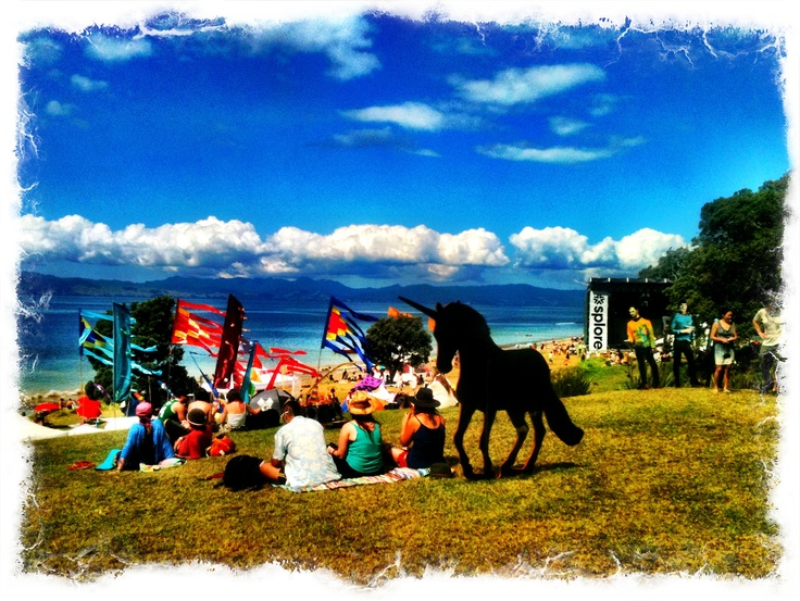 Splore Festival, Tapapakanga Regional Park, NZ