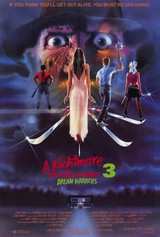 A Nightmare On Elm Street 3 Dream Warriors Movie Poster 27 X 40