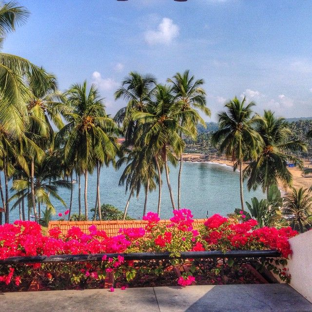 Seaside room views from the beautiful The Leela Kovalam in Thiruvananthapuram, Kerala