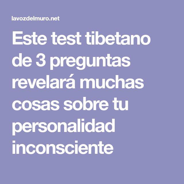Este test tibetano de 3 preguntas revelará muchas cosas sobre tu personalidad inconsciente