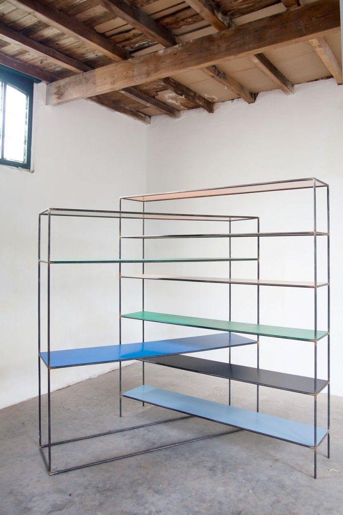 Muller Van Severen; 'Strangled Rack' Shelves.