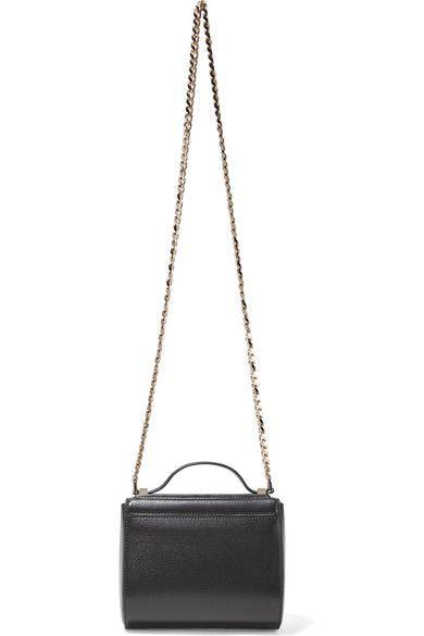 75ca26bef6 Givenchy - Pandora Box Mini Textured-leather Shoulder Bag - Black - one size