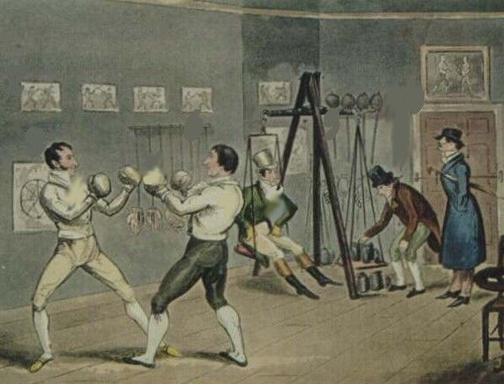 Boxing became extremely popular during the Georgian era. Fights were considered sporting events, opportunities for wagering, and pugilistic entertainment. Fights were often sponsored by wealthy patrons.