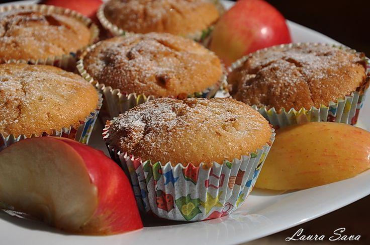 Briose cu mere (de post, vegane)