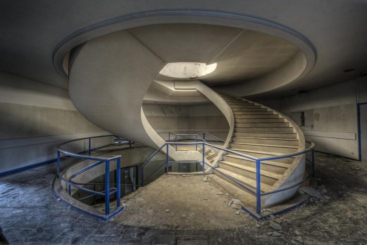 Abandoned Office Block in Belgium