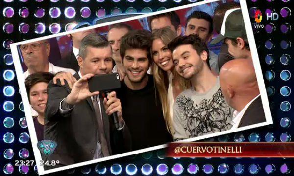 #Selfie @Marama_Oficial y @rombai_ con Marcelo Tinelli