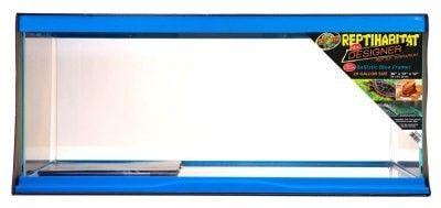 "REPTILE - STARTER KITS - REPTIHABITAT DESIGNER TERRARIUM NEON BLUE - 10 GALLON - 20""x10""x12"" - ZOO MED/AQUATROL, INC - UPC: 97612091519 - DEPT: REPTILE PRODUCTS"