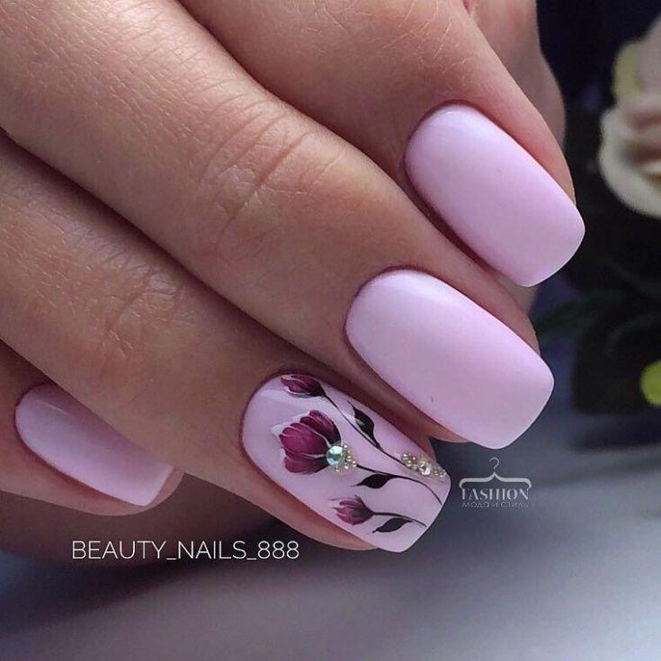 70+ Delicate nail art designs 2018 (3)