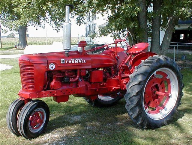Restored Ih Tractors : Farmall super h restored tractor for sale cars