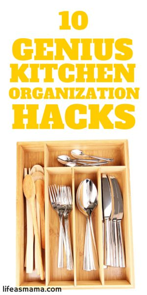 10 Genius Kitchen Organization Hacks Wedding A House And Chalkboards