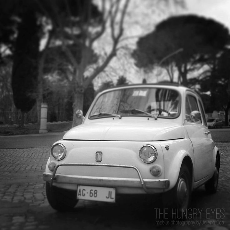 Fiat 500 Print, Rome Photography, Cinquecento Print, Italian Car Print, Vintage Car, Wedding Gift, Vintage Inspired, Fine Art Photography by TheHungryEyes on Etsy