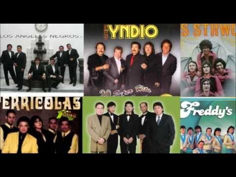 Los Angeles Negros, Yndio, Terricolas, Pasteles Verdes y los Strwck mix EXITOS - YouTube