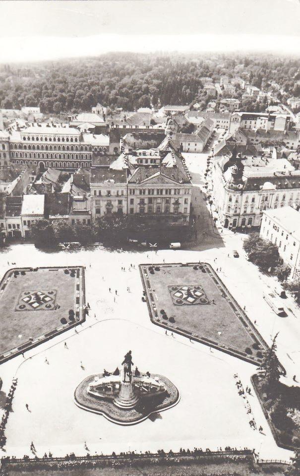 postcard, Kolozsvár, Cluj-Napoca, 1971