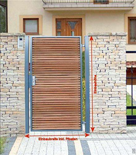 Pforte Holz Gartentor Grau Hoftor Einfahrtstor Tür Tor Törchen 105cm x 180cm BEBV http://www.amazon.de/dp/B00WZJ3UZQ/ref=cm_sw_r_pi_dp_wUORvb1GQV4QH