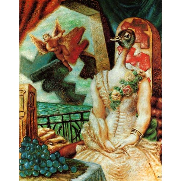 History of Art: Alberto Savinio ❤ liked on Polyvore