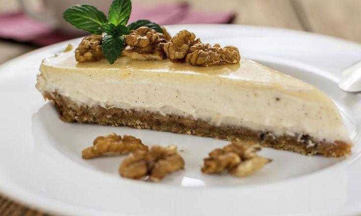 Pečeme zdravě a bez lepku. Dejte si cheesecake bez lepku, je zdravý a dobrý. Vynechejte sušenkový základ a nahraďte je oříšky. tescorecepty.cz - čerstvá inspirace.