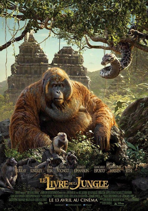 Affiche #Cinéma #LeLivreDeLaJungle le Roi Louie