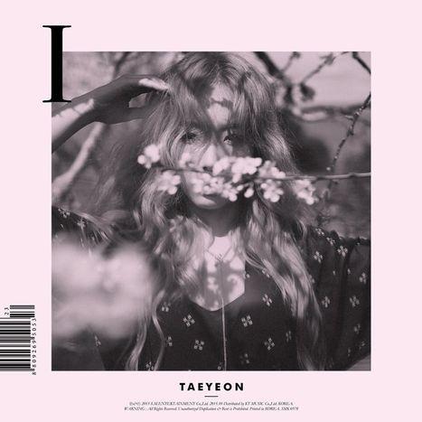 "TAEYEON ""I"" album cover (full size). kpop, album cover, editorial, graphic design, photography"